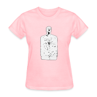 Women's T-Shirts ~ Women's Standard Weight T-Shirt ~ Weapon Blog Target