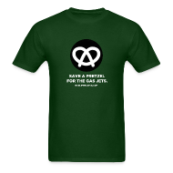 T-Shirts ~ Men's Standard Weight T-Shirt ~ SAVE A PRETZEL