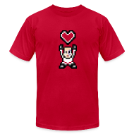 T-Shirts ~ Men's T-Shirt by American Apparel ~ Lappy Heart