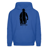 Hoodies ~ Men's Hooded Sweatshirt ~ Mens Hoodie : BF3  COD