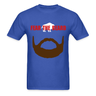 T-Shirts ~ Men's Standard Weight T-Shirt ~ Fear the Beard (M)