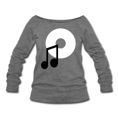 music note and a CD Long Sleeve Shirts