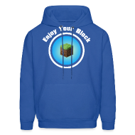 Hoodies ~ Men's Hooded Sweatshirt ~ Enjoy Your Block - Men's Hoodie