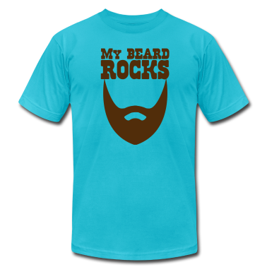 MY BEARD ROCKS! T-Shirts