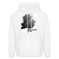 Hoodies ~ Men's Hooded Sweatshirt ~ Fragmental Tree SW