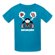 Kids' Shirts ~ Kids' T-Shirt ~ Deadlift Girl (Kids)