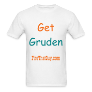 T-Shirts ~ Men's Standard Weight T-Shirt ~ HIRE JON GRUDEN