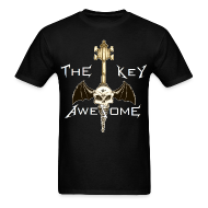 T-Shirts ~ Men's Standard Weight T-Shirt ~ METAL Key of Awesome! Men