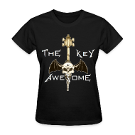 Women's T-Shirts ~ Women's Standard Weight T-Shirt ~ METAL Key of Awesome! Ladies