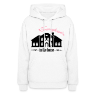 Hoodies ~ Women's Hooded Sweatshirt ~ Trannylicious in the house - Women's Hoodie