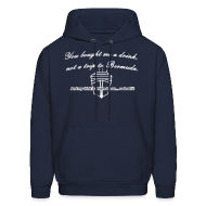 Hoodies ~ Men's Hooded Sweatshirt ~ Trip to Bermuda - Men's Hoodie