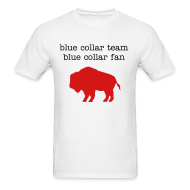 T-Shirts ~ Men's Standard Weight T-Shirt ~ Blue Collar Fan (M)