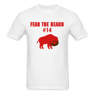 T-Shirts ~ Men's Standard Weight T-Shirt ~ Fear Fitz's Beard (M)