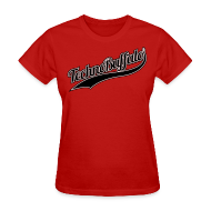 Women's T-Shirts ~ Women's Standard Weight T-Shirt ~ TechnoBuffalo Jersey T Gals