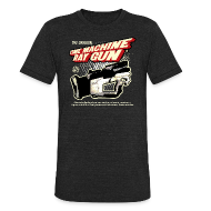 T-Shirts ~ Men's Tri-Blend Vintage T-Shirt ~ Time Machine Ray Gun Vintage