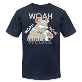 DALE Woah Woah Now Welax! Men American Apparel ~ 316