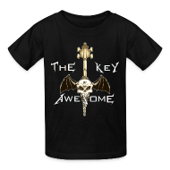 Kids' Shirts ~ Kids' T-Shirt ~ METAL Key of Awesome! Kids
