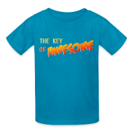 Kids' Shirts ~ Kids' T-Shirt ~ The Key of Awesome Kids Logo