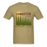 T-Shirts ~ Men's Standard Weight T-Shirt ~ Lumberton, USA