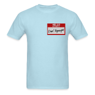 T-Shirts ~ Men's Standard Weight T-Shirt ~ Mens Tee: My Name is Dave