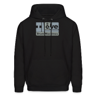Hoodies ~ Men's Hooded Sweatshirt ~ Twisted Tools I Love Drum Machines - Hoodie