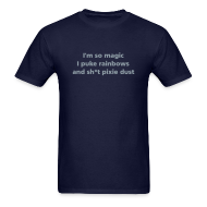 T-Shirts ~ Men's Standard Weight T-Shirt ~ MENS SIMPLE: I'm so magic