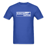 T-Shirts ~ Men's Standard Weight T-Shirt ~ Bleacher Nation Logo Standard Weight T-Shirt (Men's)