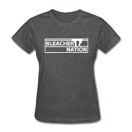Women's T-Shirts ~ Women's Standard Weight T-Shirt ~ Bleacher Nation Logo Standard Weight T-Shirt (Women's)