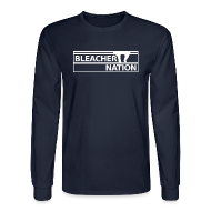 Long Sleeve Shirts ~ Men's Long Sleeve T-Shirt ~ Bleacher Nation Logo Long Sleeve Shirt  (Men's)