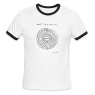 T-Shirts ~ Men's Ringer T-Shirt by American Apparel ~ What to focus on - Ringer Men's