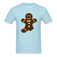 T-Shirts ~ Men's Standard Weight T-Shirt ~ Gingerbread Man