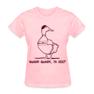 Women's T-Shirts ~ Women's Standard Weight T-Shirt ~ Cosby Duck