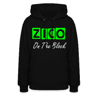 Hoodies ~ Women's Hooded Sweatshirt ~ Zico On The Block- Hoodie
