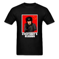 T-Shirts ~ Men's Standard Weight T-Shirt ~ Everybody's Russian!