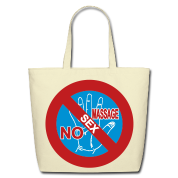 NO Sex Massage Sign on bags, aprons and more Accessories