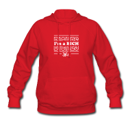 Hoodies ~ Women's Hooded Sweatshirt ~ I'm a BICH