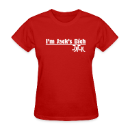 Women's T-Shirts ~ Women's Standard Weight T-Shirt ~ I'm Jack's Bich