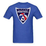 T-Shirts ~ Men's T-Shirt ~ MAVS MONEYBALL CREST w/ MMB Texas on back