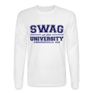Long Sleeve Shirts ~ Men's Long Sleeve T-Shirt ~ swag u ls