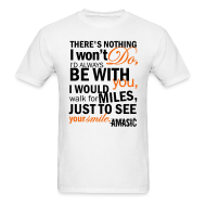 T-Shirts ~ Men's Standard Weight T-Shirt ~ Smile