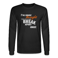 Long Sleeve Shirts ~ Men's Long Sleeve T-Shirt ~ Break Apart