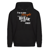 Hoodies ~ Men's Hooded Sweatshirt ~ Break Apart