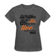 Women's T-Shirts ~ Women's Standard Weight T-Shirt ~ Chance