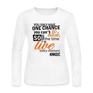 Long Sleeve Shirts ~ Women's Long Sleeve Jersey T-Shirt ~ Chance