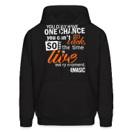 Hoodies ~ Men's Hooded Sweatshirt ~ Chance