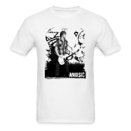 T-Shirts ~ Men's Standard Weight T-Shirt ~ Amasic Black & White