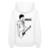 Hoodies ~ Women's Hooded Sweatshirt ~ Amasic - Back