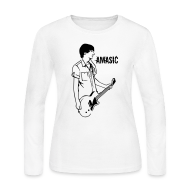 Long Sleeve Shirts ~ Women's Long Sleeve Jersey T-Shirt ~ Amasic