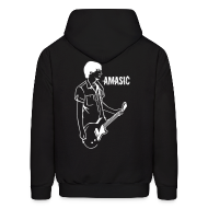 Hoodies ~ Men's Hooded Sweatshirt ~ Amasic - Back