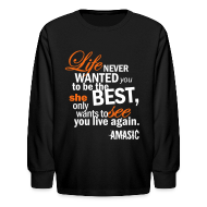 Kids' Shirts ~ Kids' Long Sleeve T-Shirt ~ Life
